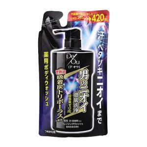 【5%還元】【価格据え置き】ロート製薬 デ・オウ 薬用クレンジングウォッシュ つめかえ用 420ml De Ou ROHTO|cosmebox