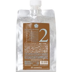 オブ・コスメティックス トリートメントオブヘア・2(エコサイズ 白樺(バーチ)の香り) トリートメン...
