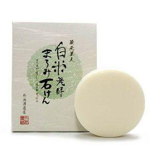 蔵元美人/白米発酵まろみ石けん 洗顔料|cosmecom