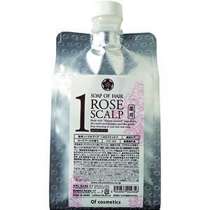 オブ・コスメティックス 薬用ソープオブヘア・1-ROスキャルプ(エコサイズ ローズブーケの香り) シ...