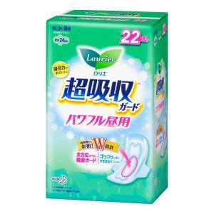 ロリエ/ロリエ超吸収ガード パワフル昼用 (羽つき)