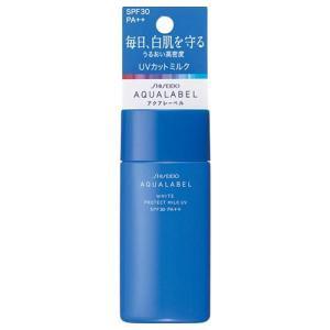アクアレーベル/ホワイトプロテクトミルクUV(ローズミストのほのかな香り)|cosmecom