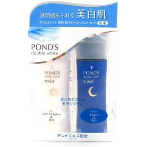 ポンズ/ダブルホワイト 薬用美白モイストミルク(セット) スキンケアキット|cosmecom
