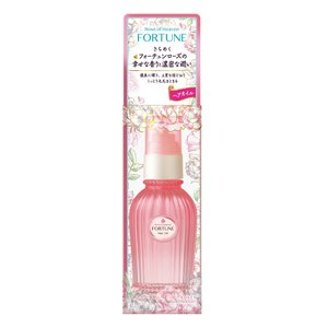 ローズオイル高濃度配合。きらめくフォーチュンローズの香りで艶めく香り髪へみちびきます。  容量:80...