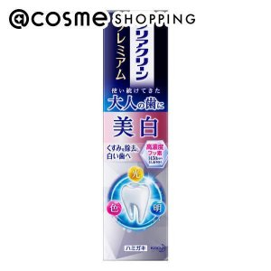 クリアクリーン/クリアクリーン プレミアム美白(本体) 歯磨き粉|cosmecom