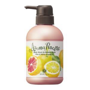 ハウス オブ ローゼ/アロマルセット ボディウォッシュ&バブルバス(ピンク&ホワイトグレープフルーツの香り) cosmecom