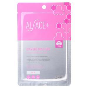 ALFACE+(オルフェス)/ダイアモンドモイスチャー アクアモイスチャー シートマスク(1枚)|cosmecom