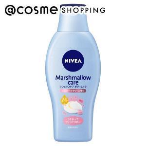 ニベア/ニベア マシュマロケア ボディミルク シルキーフラワー(本体) ニベア ボディミルク|cosmecom
