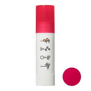レシピスト/ほんのり色づくリップクリーム(本体/アップルの香り ピュアレッド) レシピスト リップクリーム|cosmecom