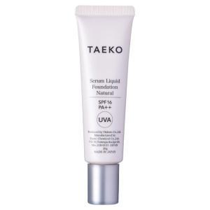 TAEKO/美容液ファンデーション(本体 【ナチュラル】自然で標準的な肌色)|cosmecom