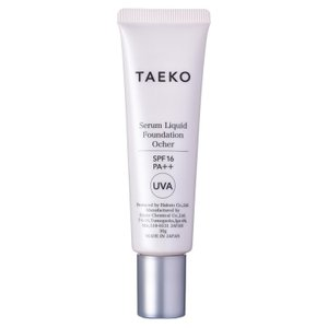 TAEKO/美容液ファンデーション(本体 【オークル】健康的でやさしい褐色の肌色)|cosmecom