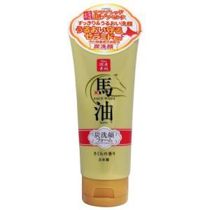 リシャン/馬油&炭洗顔フォーム(さくらの香り) cosmecom