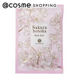 ハウス オブ ローゼ/桜ほの香 バスソルト(フルーティフローラルグリーンの香り) バスソルト|cosmecom