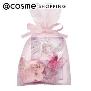 ハウス オブ ローゼ/桜ほの香 バスセット(フルーティフローラルグリーンの香り) ボディケアキット|cosmecom