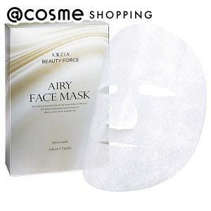 AXXZIA/BEAUTY FORCE AIRY FACE MASK(本体)|cosmecom