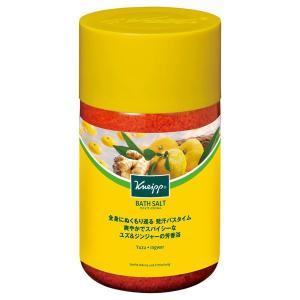 KNEIPP(クナイプ)/バスソルト ユズ&ジンジャーの香り バスソルト|cosmecom