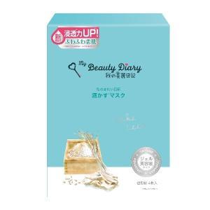 我的美麗日記(私のきれい日記)/酒かすマスク フェイス用シートパック・マスク|cosmecom