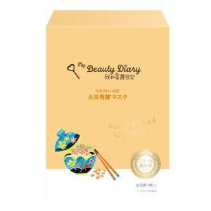 我的美麗日記(私のきれい日記)/大豆発酵マスク フェイス用シートパック・マスク|cosmecom