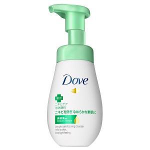 ダヴ/ニキビケア クリーミー泡洗顔料(本体) 洗顔料|cosmecom