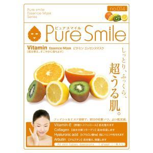 Pure Smile(ピュアスマイル)/ビタミンエキス フェイス用シートパック・マスク|cosmecom