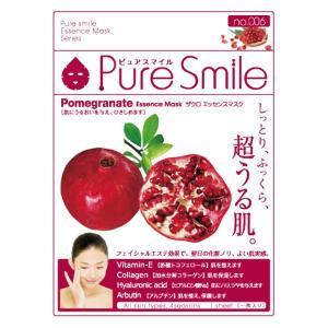 Pure Smile(ピュアスマイル)/ザクロエキス フェイス用シートパック・マスク|cosmecom