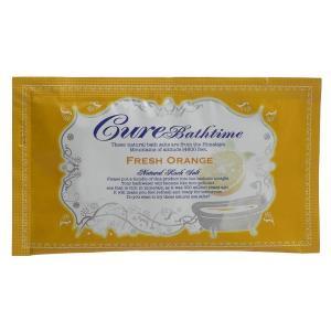 Cure/Cureバスタイム フレッシュオレンジの香り 入浴剤|cosmecom