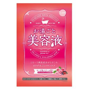 お湯ごと美容液/お湯ごと美容液 ローズ&ベリー 入浴剤|cosmecom