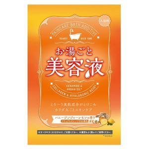 お湯ごと美容液/お湯ごと美容液 ハニージンシャーレモン 入浴剤|cosmecom