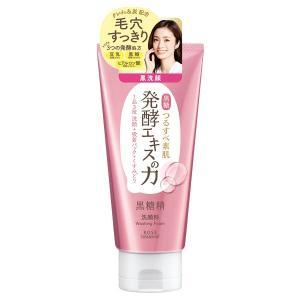 黒糖精/毛穴すっきり黒洗顔(やさしいスイートフローラルの香り) 洗顔料|cosmecom