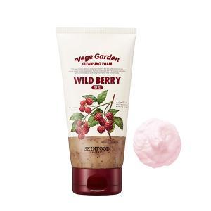 SKINFOOD(スキンフード)/ベジガーデンクレンジングフォーム(本体/みずみずしい/ベリーの香り ワイルドベリー) 洗顔料|cosmecom
