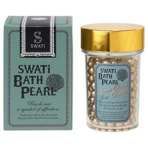 SWATi/BATH PEARL(本体/レモンクォーツ GOLD (L)) 入浴剤 cosmecom