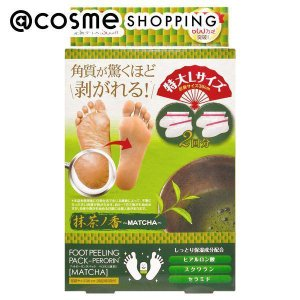 素数/フットピーリングパック ペロリン 抹茶 cosmecom