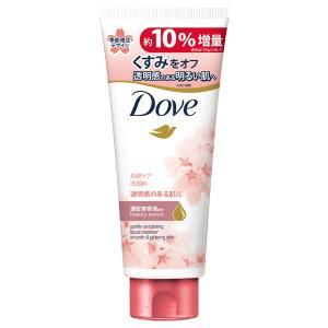 ダヴ/【限定品】クリアリニュー洗顔料 増量品 サクラデザイン(やさしいフローラルの香り) 洗顔料 cosmecom