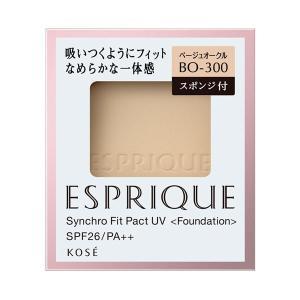 エスプリーク/シンクロフィット パクト UV(リフィル/なめらか/無香料 【BO-300】ベージュオークル) ファンデーション cosmecom