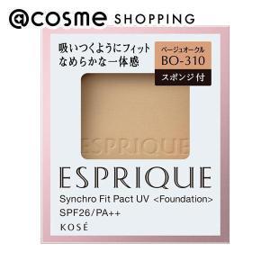 エスプリーク/シンクロフィット パクト UV(リフィル/なめらか/無香料 【BO-310】ベージュオークル) ファンデーション cosmecom