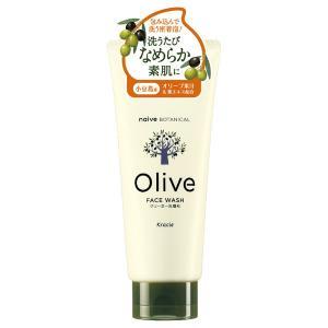 ナイーブ/クリーミー洗顔料(オリーブフォレストの香り(100%天然精油)) 洗顔料 cosmecom