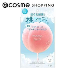 ももぷり/潤いぷるジュレマスク クール フェイス用シートパック・マスク|cosmecom