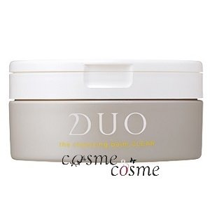 DUO デュオ ザ クレンジングバーム クリア 90g(4589659140481) ギフト プレゼント 対応可|cosmecosmecosme