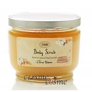 サボン ボディ スクラブ 600g #Citrus Blossom(7290108915921)|cosmecosmecosme
