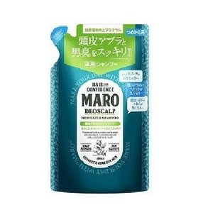 MARO  薬用デオスカルプシャンプー グリーンミントの香り つめかえ用 400ml マーロ スカル...
