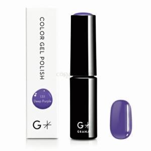 【GRANJE】【グランジェ】【G*】 カラージェルポリッシュ 131 Deep Purple ネイル ジェルネイル パープル 紫|cosmegarden-y