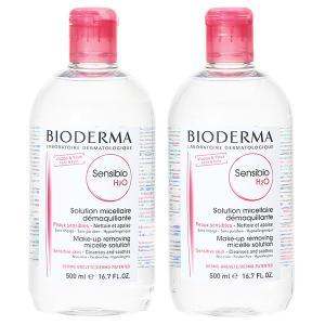 ビオデルマ BIODERMA サンシビオ H2O (エイチ ツーオー) D 500mL 【2本セット】|cosmeland-hyper