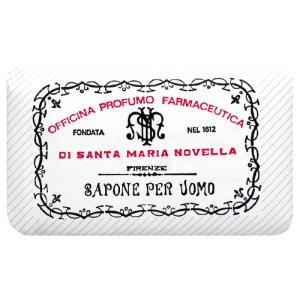 サンタマリアノヴェッラ メンズ ソープ パチューリ 130g|cosmeland-hyper