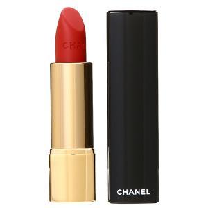 シャネル CHANEL ルージュ アリュール ヴェルヴェット  57 ルージュフー 3.5g 化粧品 コスメ ROUGE ALLURE VELVET 57 ROUGE FEU