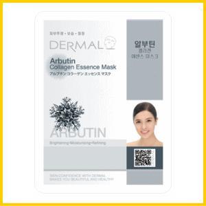 DERMAL アルブチン エッセンス シート フェイスマスク (10枚セット)/韓国コスメ(ダーマル)/送料無料 セール