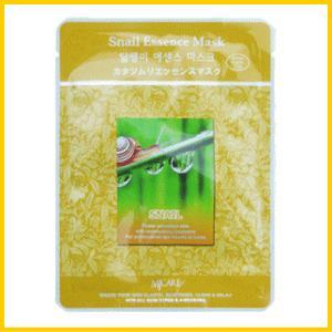 カタツムリ エッセンス シートパック フェイスマスク (10枚セット)/韓国コスメ(MIJIN)/送料無料