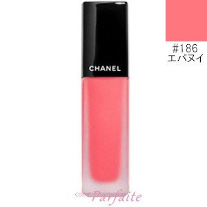 口紅 シャネル -CHANEL- ルージュアリュールインク #186 エパヌイ 6ml メール便対応