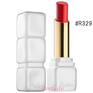 口紅 GUERLAIN ゲラン キスキス ローズリップ #R329 クレイジー ブーケ 2.8gメー...