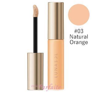 ファンデーション ルナソル -LUNASOL- グロウイングトリートメントリクイド #03 Natural Orange 6.5g メール便対応 新入荷03|cosmeparfaite
