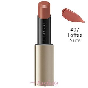 口紅 ルナソル -LUNASOL- プランプメロウリップス #07 Toffee Nuts 3.8g メール便対応 新入荷02|cosmeparfaite